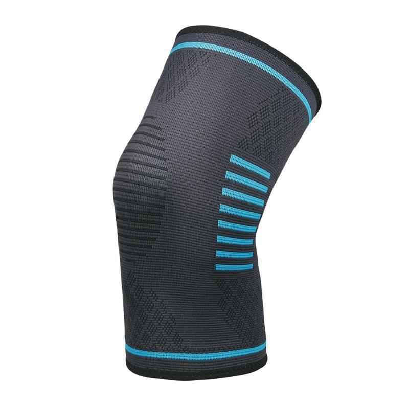 1 قطع الركبة دعم هدفين التفاف حامي padsknitter مرونة الساق الساق منصات كم كاب الرضفة الحرس الكرة الطائرة الكوع