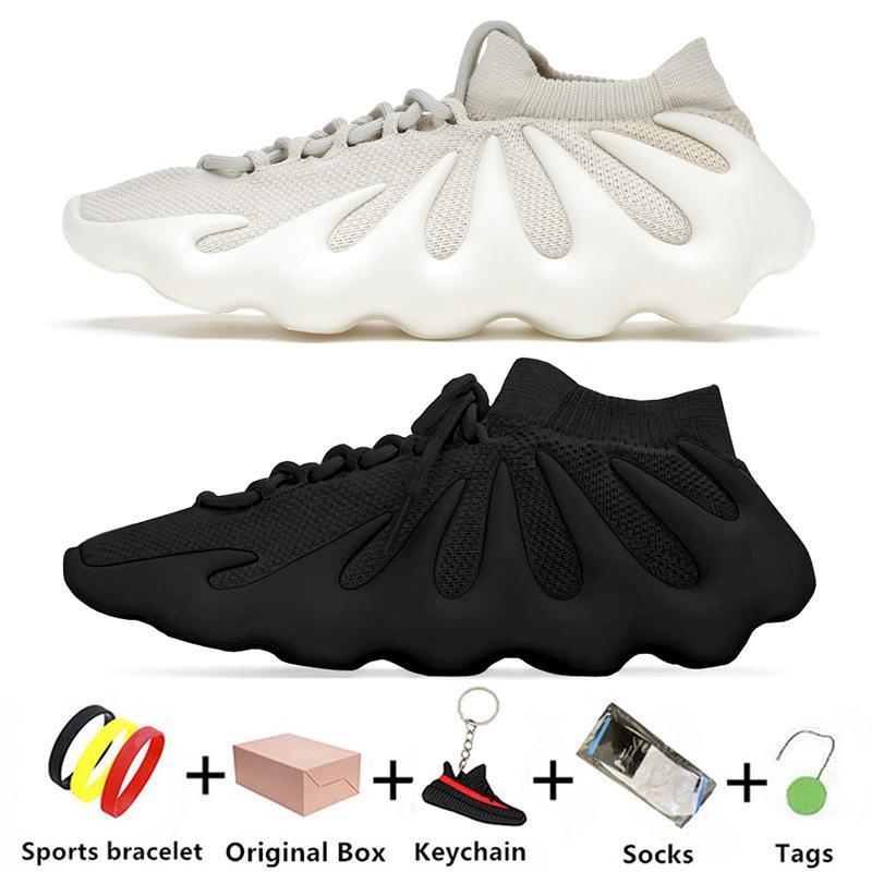 Bulut Beyaz kanye 450 erkek koşu ayakkabıları Koyu Kayrak örgü nefes tüm siyah 450s batı erkekler kadınlar eğitmenler spor ayakkabı 36-45 H68038