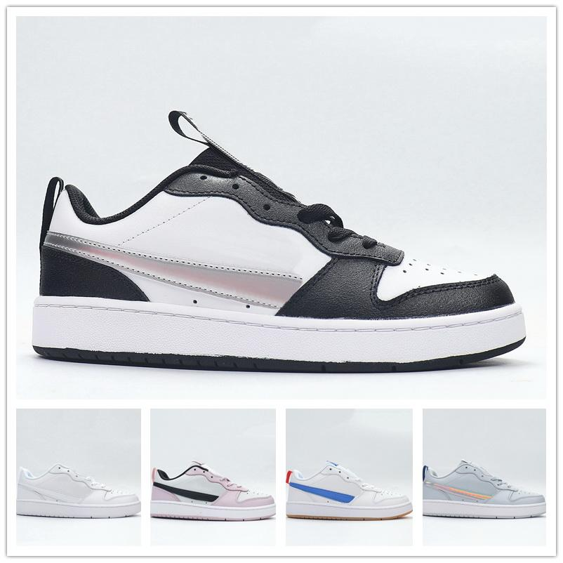 Women Girls Court Borough Low 2 GS JK Girls' low top casual board shoes training Sneakers 2021 Basketball Shoes local boots online store yakuda Dropshipping Accepted