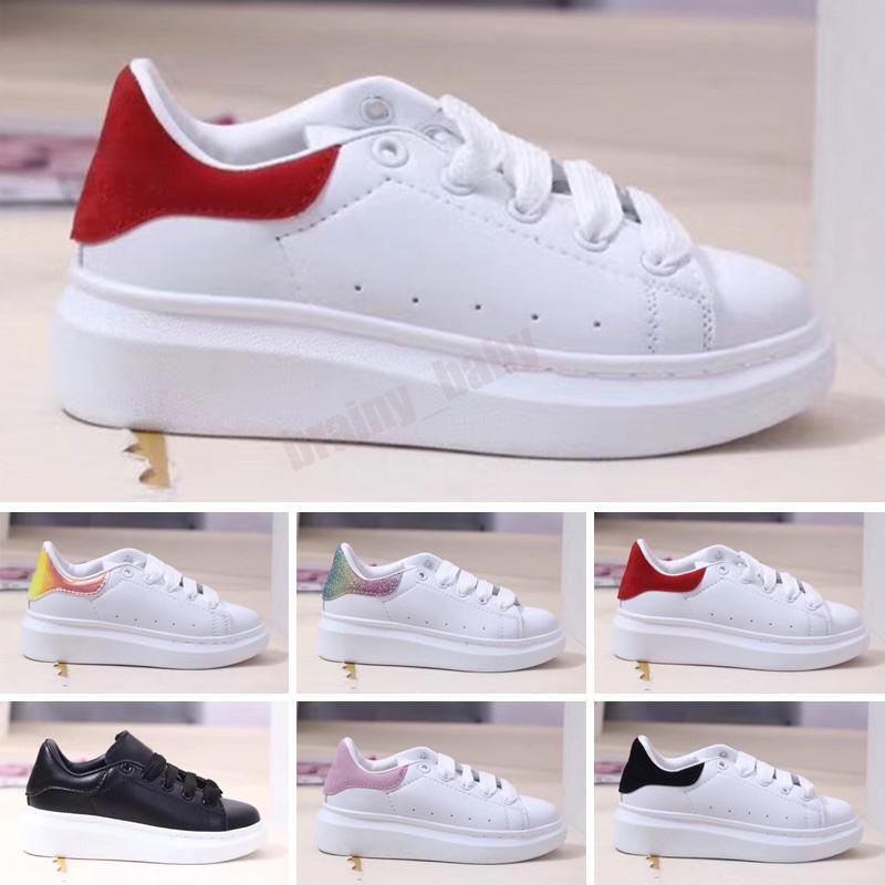 2021 Zapatos para niños Todas las cuero Top Top Sports Skateboard Originals MQ Sole Buffer Espuma Vacuum Casual Sports 26-35