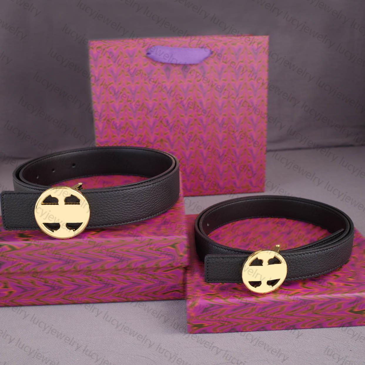 Canton de la ceinture de concepteur Gold Buckle Butives pour hommes Femme Véritable Largeur de la peau de vachette 3.5cm2.5cm 10 Couleur de haute qualité