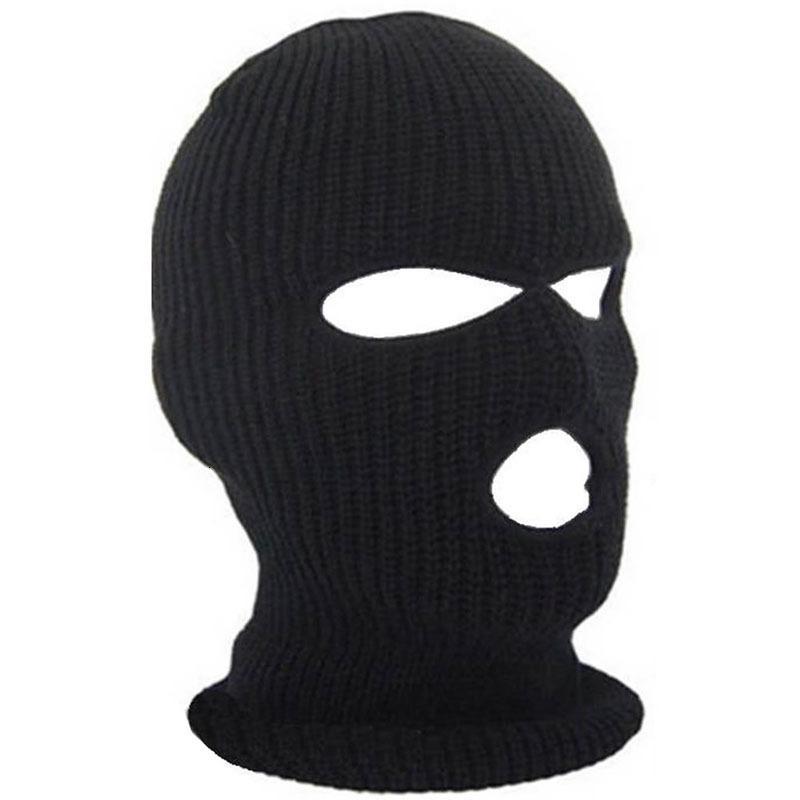 Faccia piena copertura 3 fori balaclava cappello a maglia inverno styl snow maschera berretto berretto antivento maschere traspirante caldo per equitazione ft85
