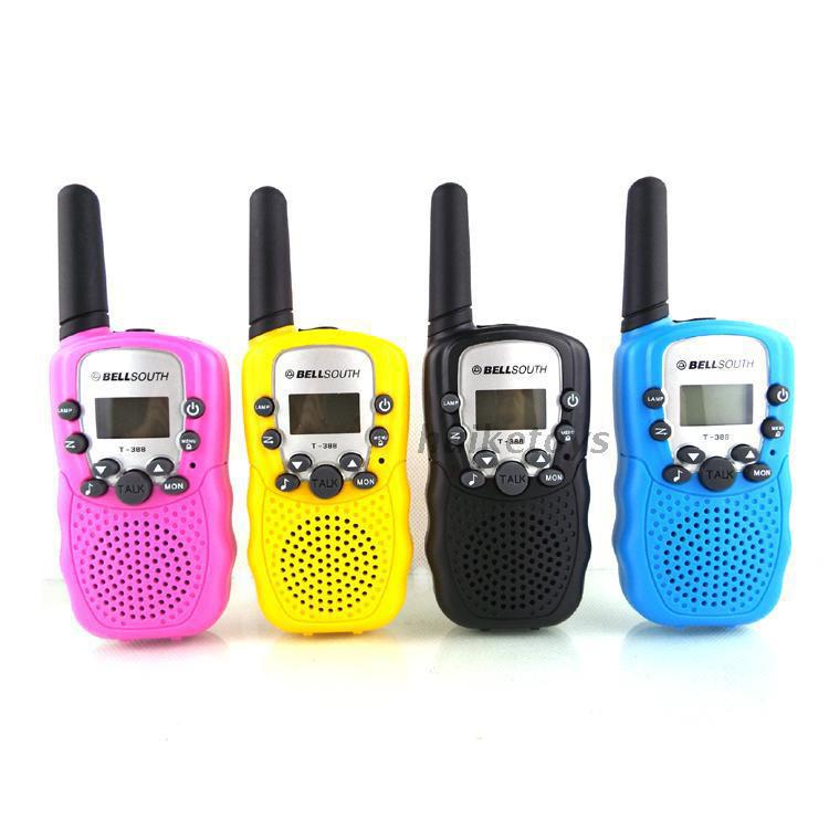 Juguete Walkie Talkies Children Electronic Toys Boys and Girls Mini Intercom Cumplido Radio Llamada Regalos de cumpleaños Puzzle