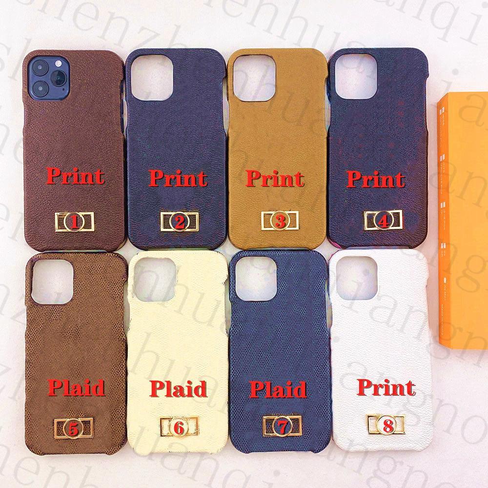 مصمم أزياء طباعة معدنية تسجيل الحالات الهاتف لفون 12 ميني 11 برو ماكس x XR XS 7 8 زائد الغلاف الإبداعي الفاخرة