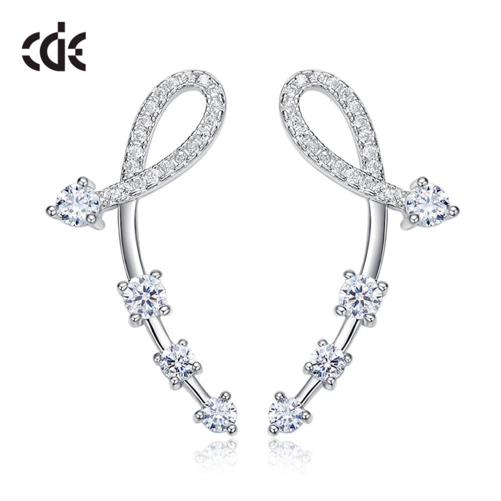 Koreanische Mode Persönlichkeit S925 Silber Mädchenblatt Ohrringe Kleine frische Frauen Ohrringe