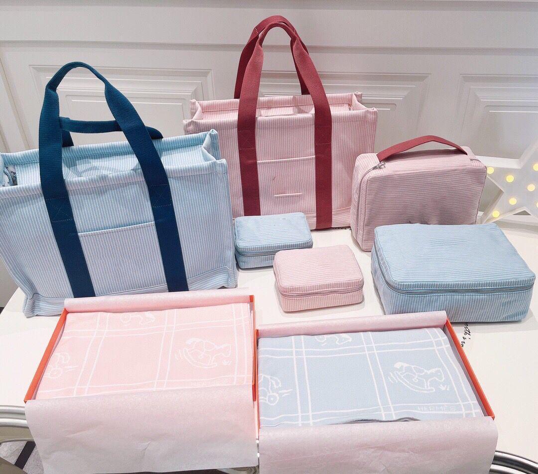 جودة عالية الطفل حفاضات حقيبة الأم الأمومة الفرقة حقيبة مجموعات الاطفال زجاجة حامل الأم المرأة حقائب الكتف ل عربة
