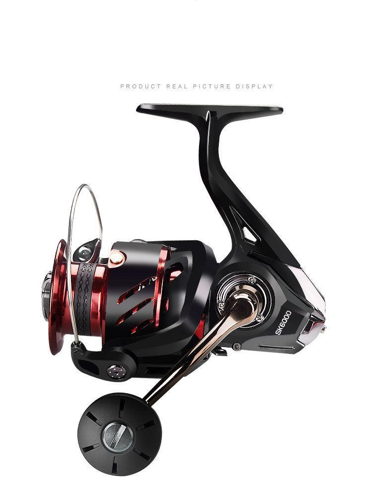 Anti-sea Water Spinning Wheel Lightweight 2000-5000 Sea Fishing / Lake Bevel Cup Distant Speed Ratio 5.7: 1 Baitcasting Reels