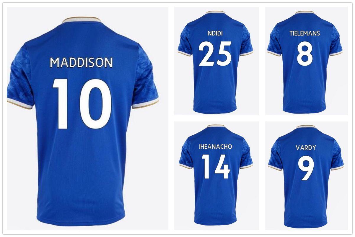 21-22 Maddison 10 Tayland Kaliteli Futbol Formaları Futbol Formaları Vary 9 Gri 7 Iborra 15 Okazaki Ndidi 25 5 Iheanacho 8 Gömlek 2021 Yakuda Yerel Çevrimiçi Mağaza Futbol Giyim