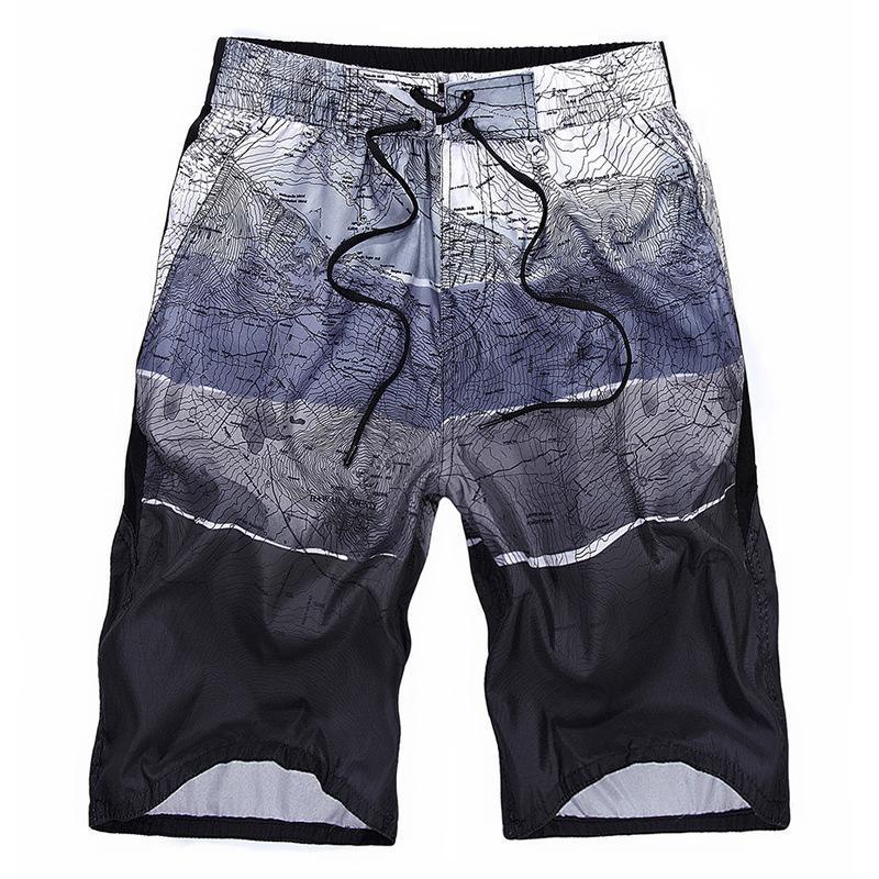 Мужские летние капризные повседневные шорты модный большой размер Qui сушильные пляжные брюки пары большие трусы