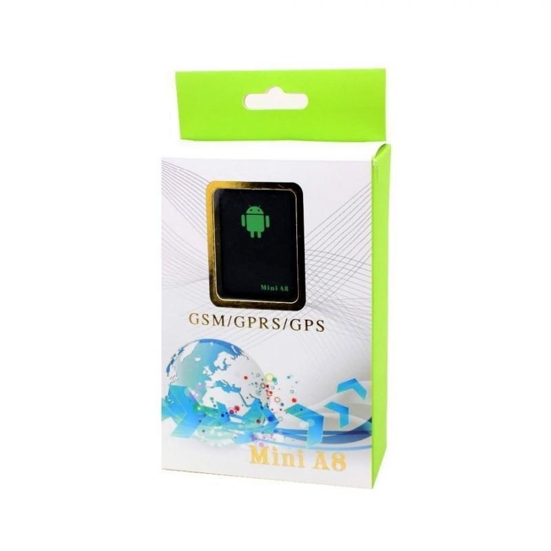 Mini A8 GPRS Tracker Bulucu Gerçek Zamanlı Araba Çocuklar Pet GSM / GPRS / LBS Takip Cihazı Kişisel Yüksek Kalite Anti-kayıp Alarm