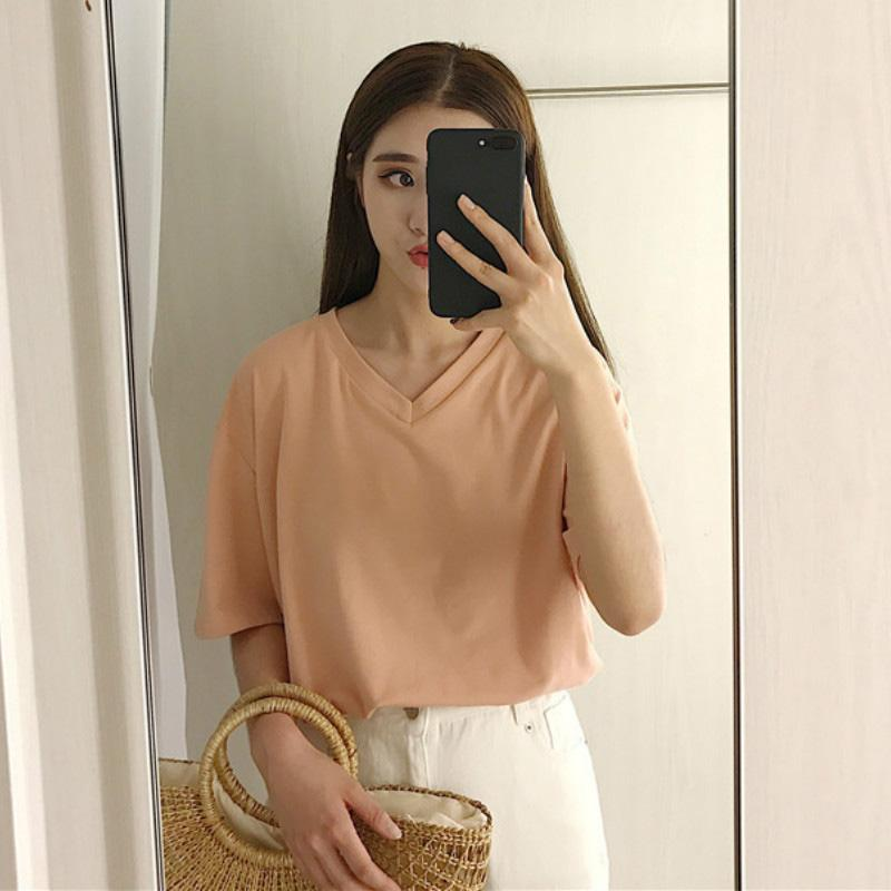 21SS T-shirts Women Vogue Vintage Tshirts Cotton O Neck Short Sleeve Friends Lady Girl Funny Hipster