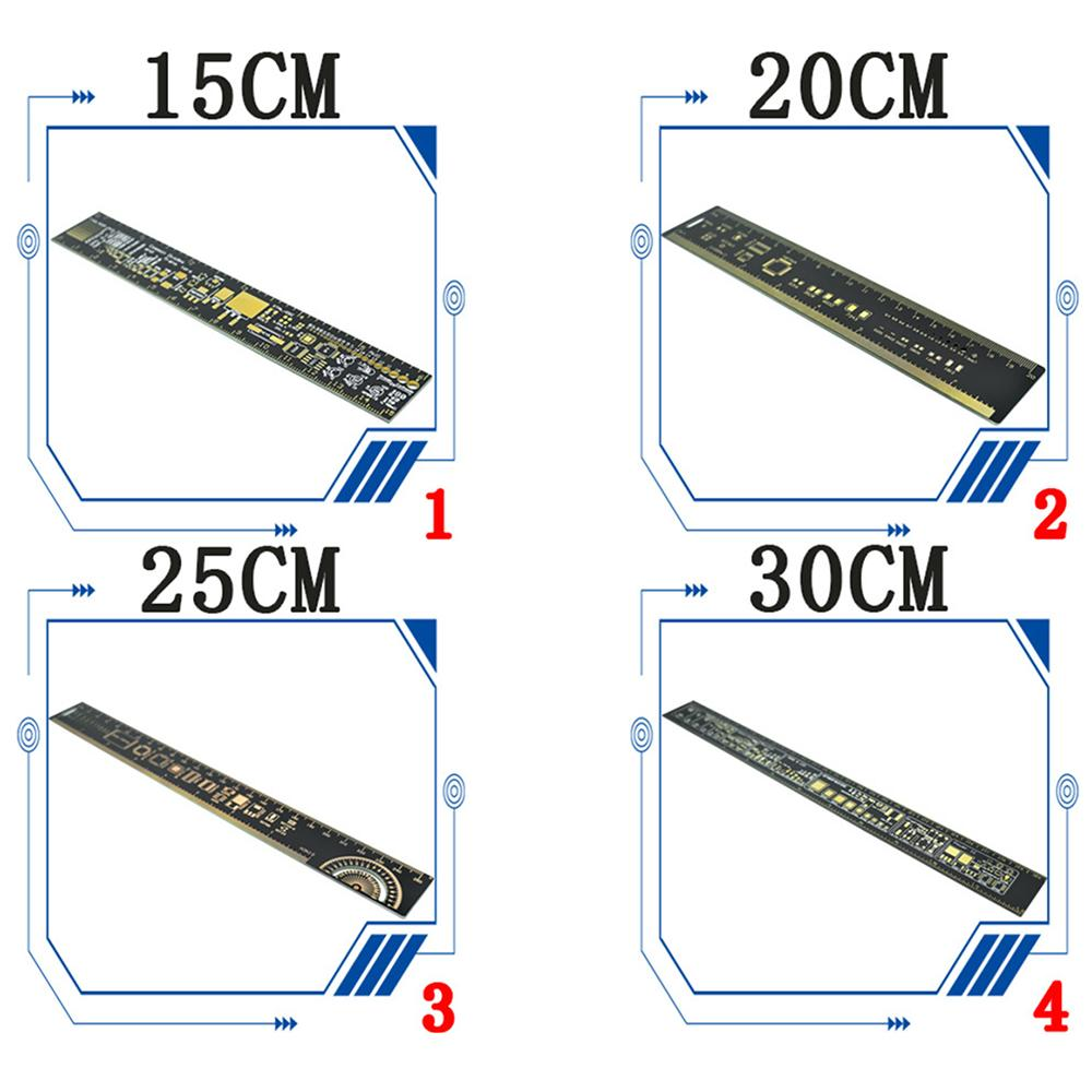 Engineering PCB Ruler 15cm20CM25CM30CM SMD