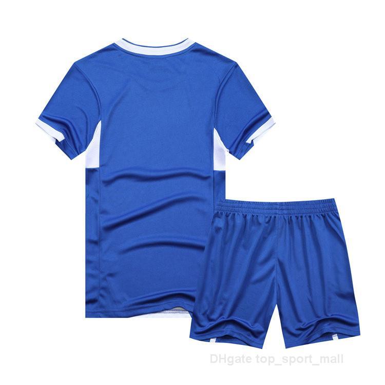 Jersey de fútbol Kits de fútbol color azul blanco negro rojo 258562443