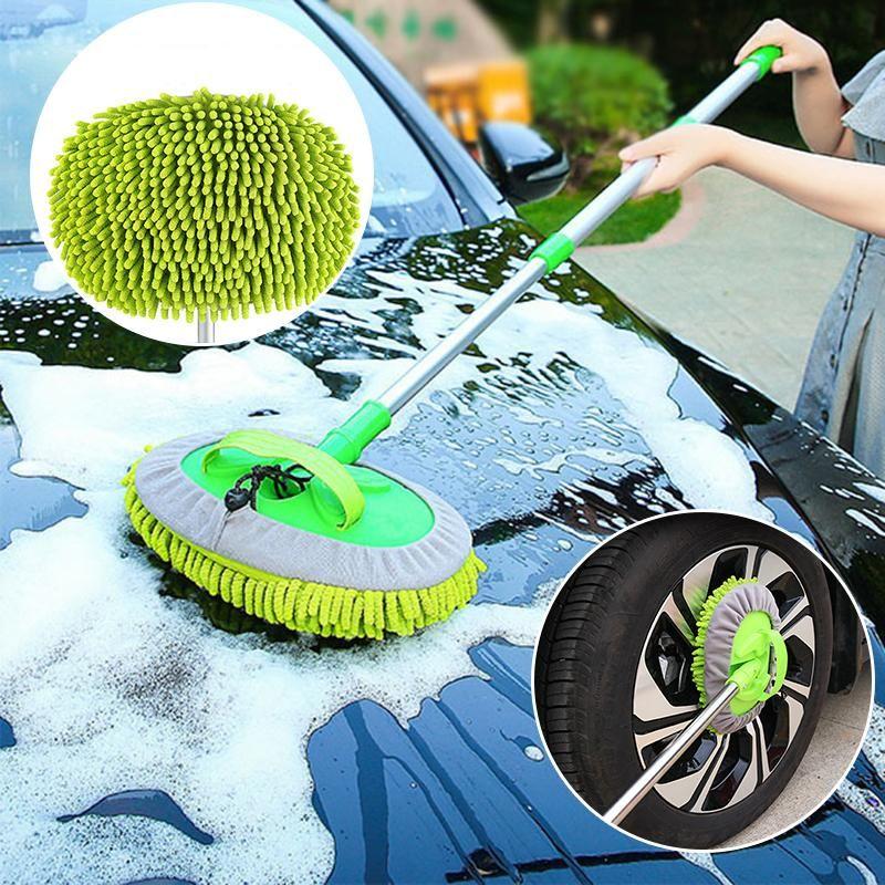 세 섹션 자동차 세척 슈퍼 흡수성 청소 브러쉬 창 워시 도구 먼지 왁스 소프트 스폰지