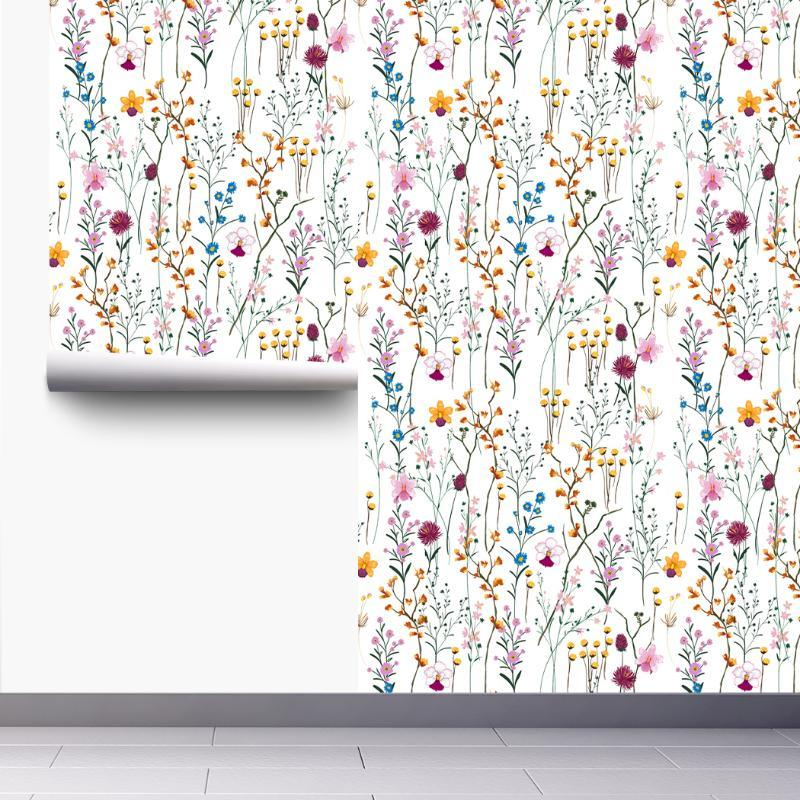 Soyma ve Sapa Duvar Kağıdı Kendinden Yapışkanlı Çıkarılabilir Duvar Çıkartmaları Ev Yatak Odası Duvarlar için Kapı Dolapları Dekorasyon Duvar Kağıtları