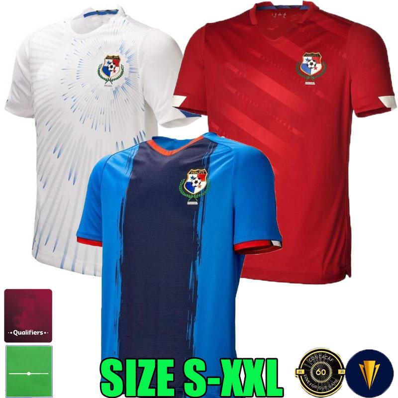 22 22 Jerseys de futebol do Panamá Cup 2021 2022 Home Away Terceiro J. Rodriguez Torres Barcenas Davis Godoy Murillo Camisas de futebol Nacional Maillots Tops