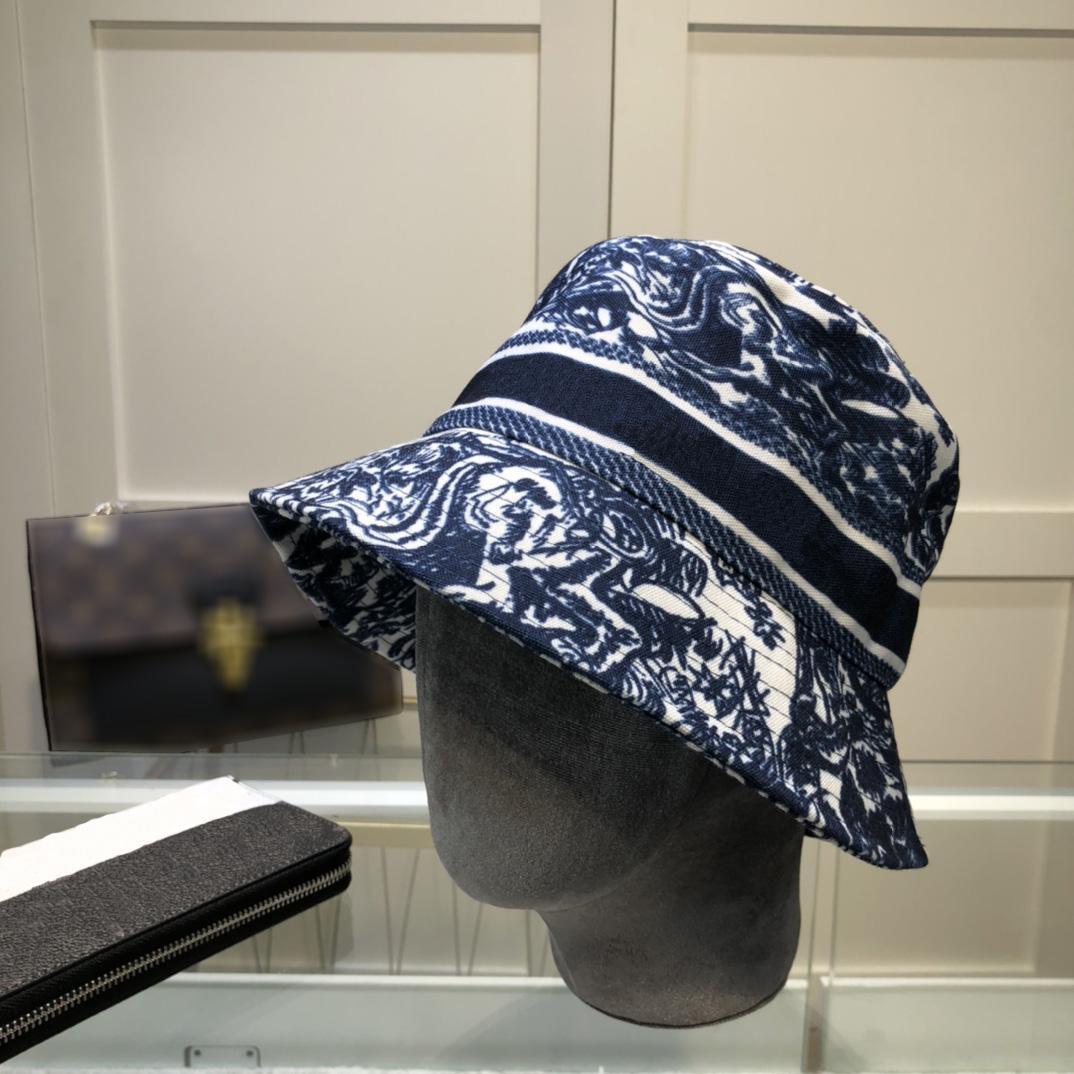 2021 Straßen Trend Eimer Hut Freizeit Luxurys Hohe Qualität Persönlichkeit Designer Caps Hüte Mens Brief Gedruckt Sunhat Frauen