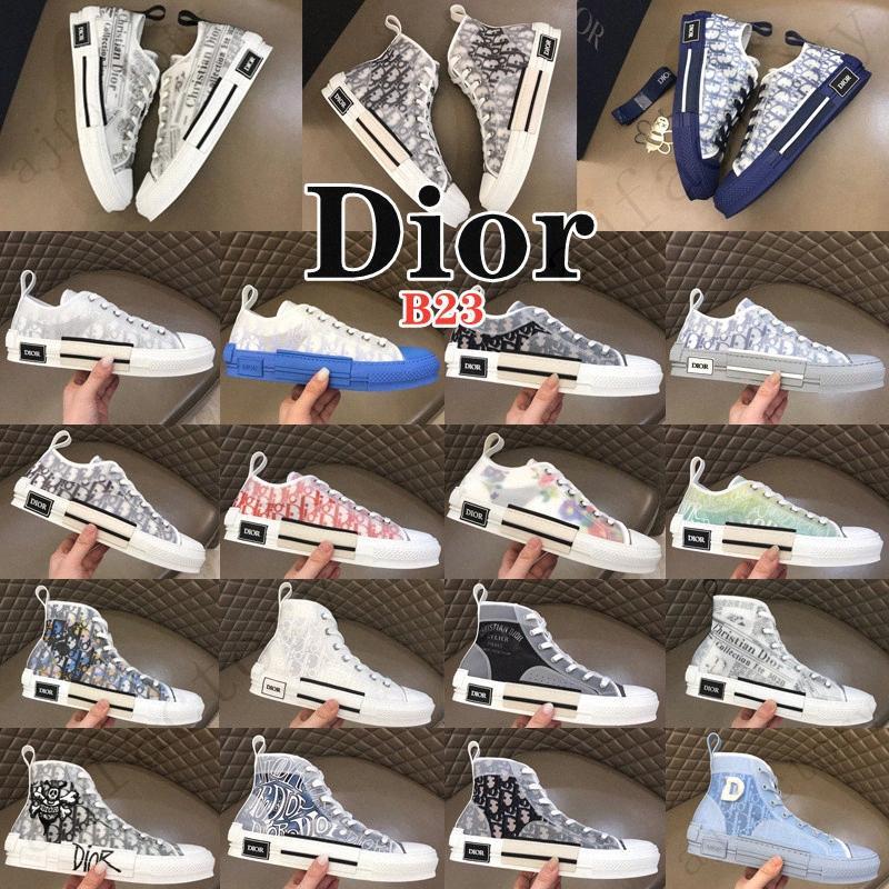 Fashion Men Womens Low High Casual Shoes grateful B23 Walking Sneaker Oblique technical Mesh Sneakers Platform Canvas Shoe Grils Slip-oCzgI#