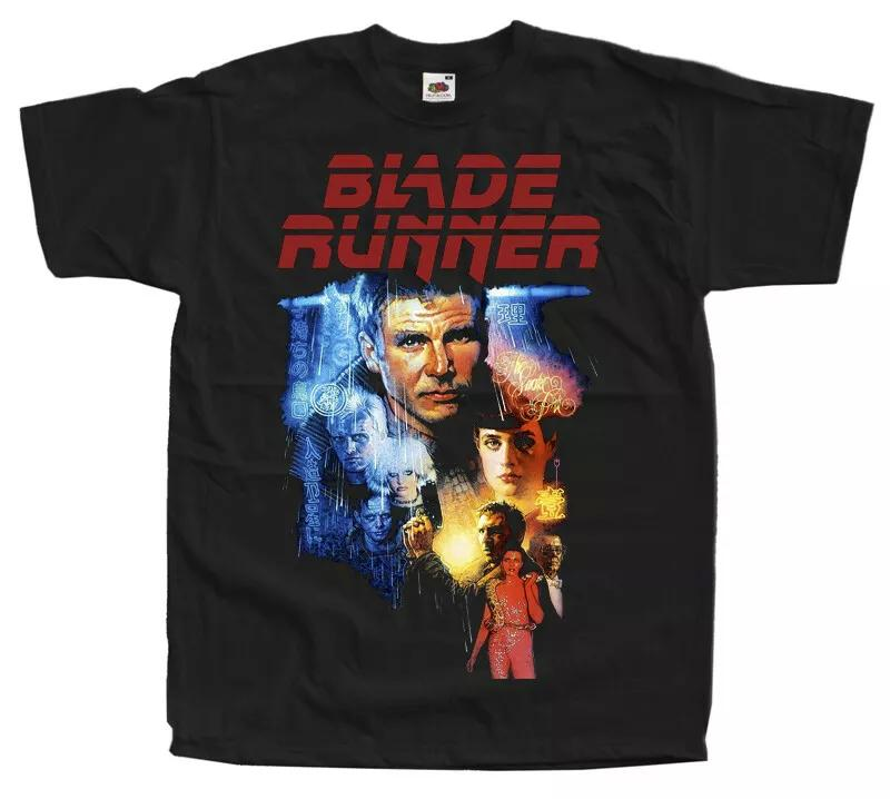 Blade Runner 1982 v2 T SHIRT TEE movie poster black all sizes S to 5XL