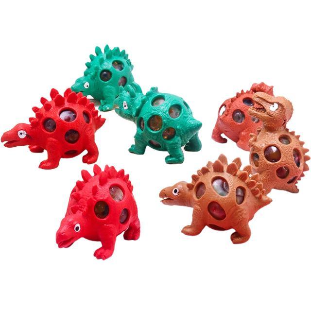 2021 dinosaurio caracol coloca huevos modelo uva ventilación compresión bolas juguete presión estrés alivio bola niños sensory tpr autismo