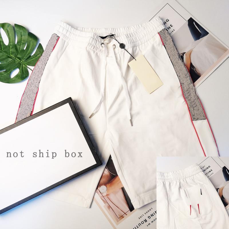 Hombres pantalones cortos casuales moda bordado clásico letra patrón verano 2021 llegada de alta calidad shorts shorts streetwear