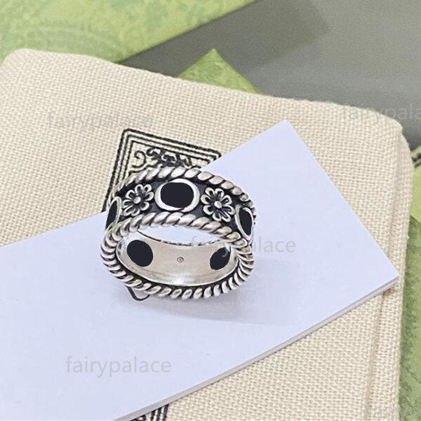 2021 Designer fashion ring Jewelry Men Women Luxury Rings Couple high-quality jewelrys simple Party wedding engagement gift