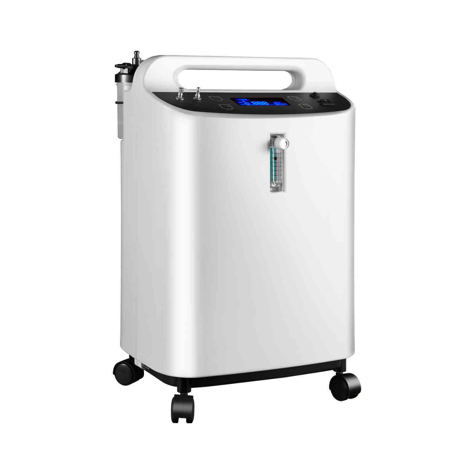 DE OXIGENO 10L Akış Düşük Gürültü Oksijen ve Nubilizer Dual Kullanın CE ISO ile Oxygen Konsantratörü Onaylandı