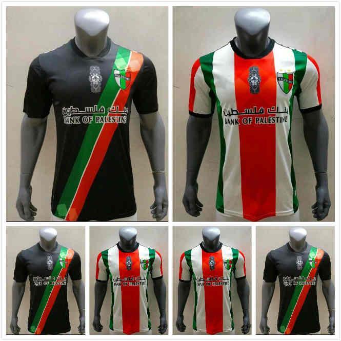 2021 2022 Palestina Futebol Jersey 21 22 22 Tailandês Qualidade Sobrevetimento Palestino Palestinos Palestino Rosende Futebol Camisa
