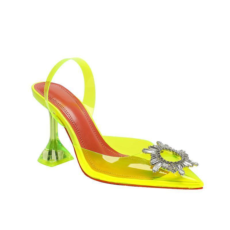 Sandals Shoes Pumps bridal wedding SLIPPERS square heel