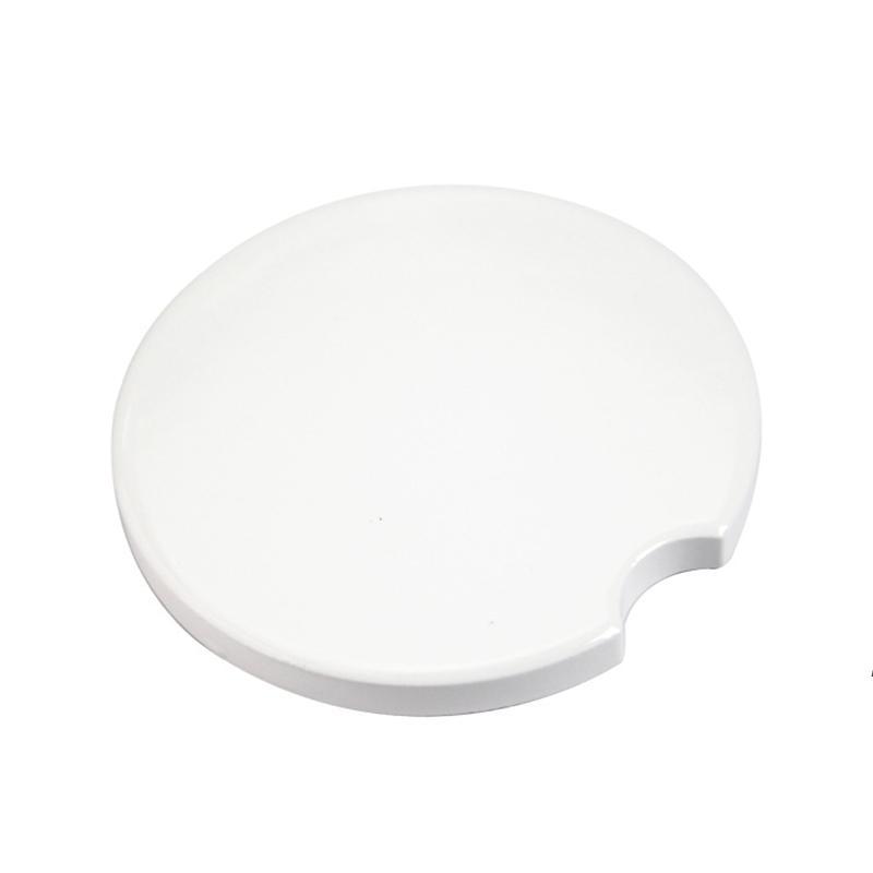 3 أنماط التسامي فارغة السيراميك كوستر drinkware أداة بيضاء سيارة الوقايات نقل الحرارة الطباعة مخصص كأس حصيرة وسادة HWF8310