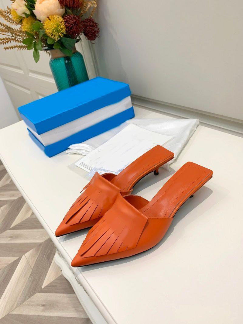 Sandálias de borracha de verão das mulheres de qualidade superior Paris Sandálias de borracha de verão Sandálias Slipper Schowper Sapatos internos Sandália