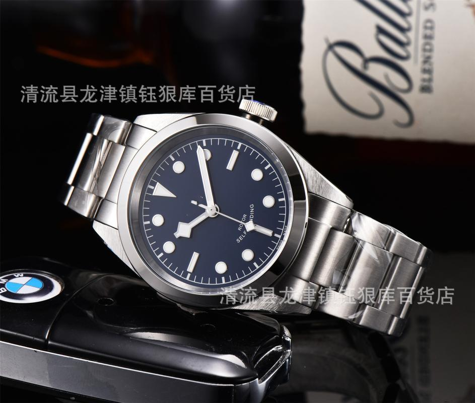 Foreign Trade Men's Stainless Steel Ceramic Ring Mechanical Automatic D Watch Manufacturer Wholesale Wristwatches
