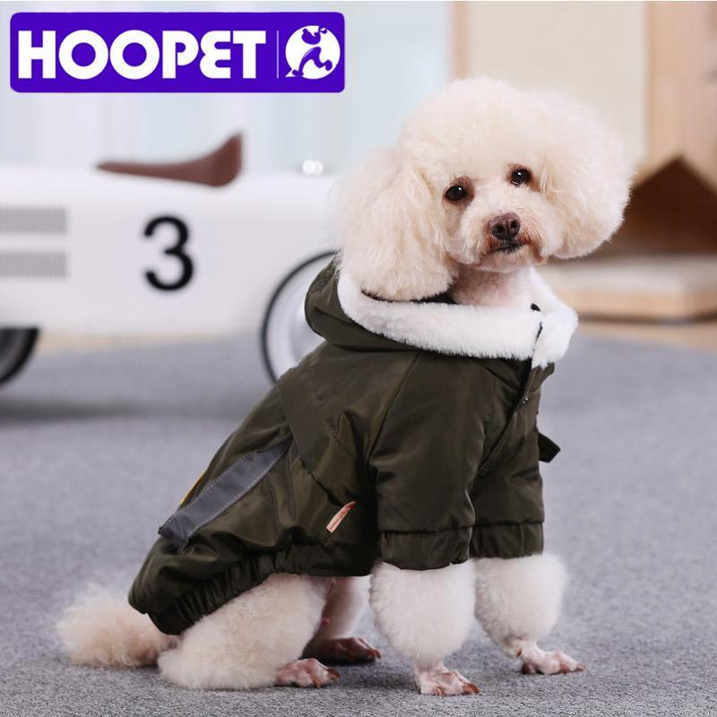 Hundebekleidung hoopet haustier kleidung winter warm für hunde jacke mantel welpen chihuahua kleidung hoodies kleines outfit