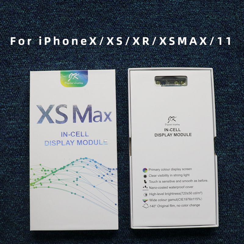 10pcs Buena calidad Pantalla LCD OLED Pantalla táctil Piezas de repuesto del ensamblaje del digitalizador para iPhone X XS XR