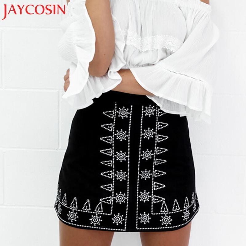 Röcke Herbst Frauen Mode Sexy Dame Minirock Wildleder Stoff Slim Nahtlose Dehnung Tight kurz 4.11