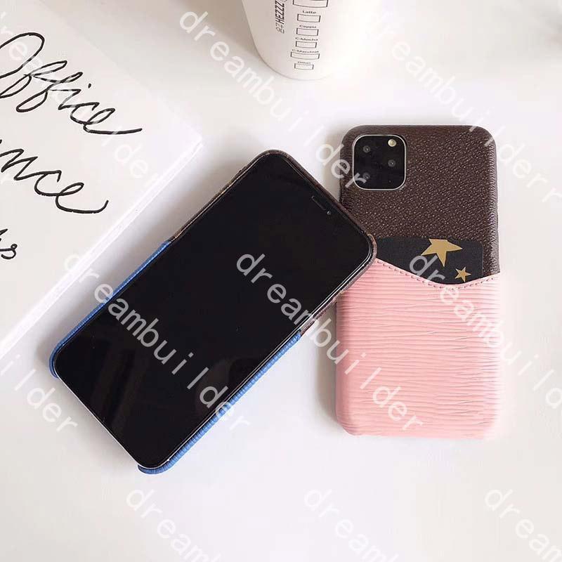 L Fashion Phone Cases per iPhone 12 Pro Max 11Pro 11Promax 7 8 PLUS BUSSURY Designer Cover x XS XR XSMAX 12mini con carta