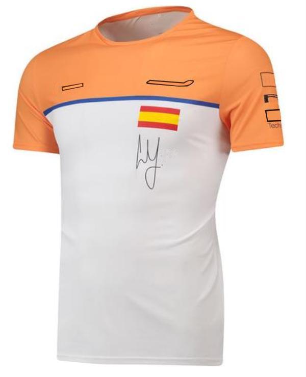 T-shirt manica corta della squadra di Formula 1 della squadra di F1 Summer New Racing T-Shirt STUSS Style Personalizzazione