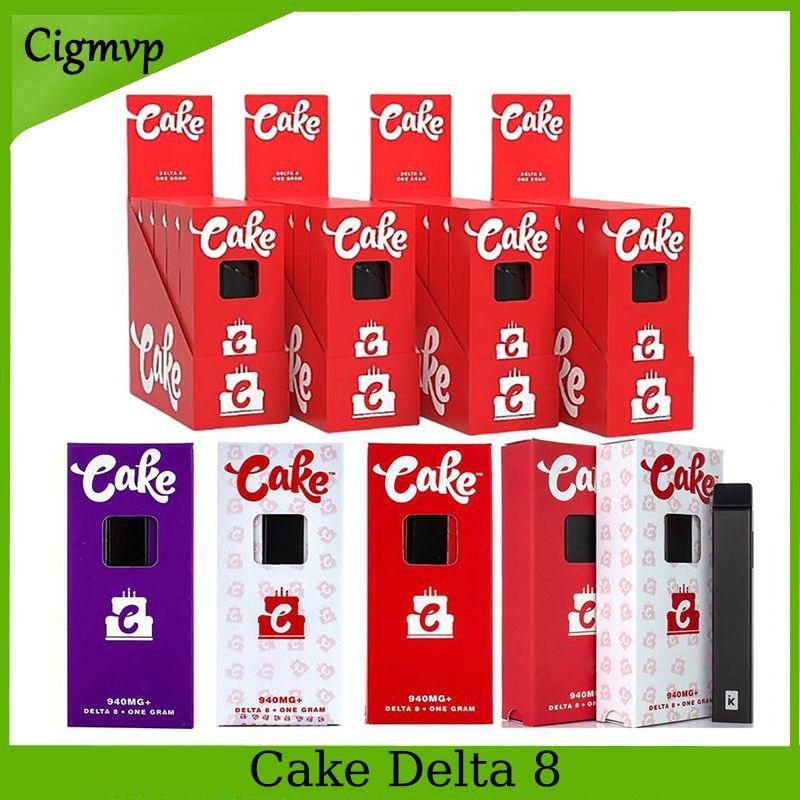 케이크 일회용 장치 전자 담배 델타 8 D8-1 1 그램 빈 포드 충전식 두꺼운 기름을 위해