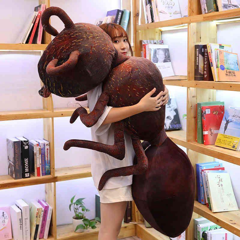 Plüschpuppenkissen Simulation Ameise Spielzeug Ect Long Kush Große Puppe Kreative Spoof Geschenk