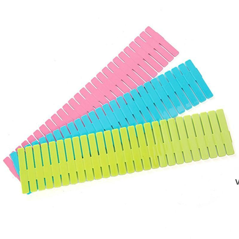 DIY ящики делители пластиковые сетки регулируемые выдвижными ящиками разделитель домашнее хранение для дома Tidy Close Backup носки нижнее белье HWD7141