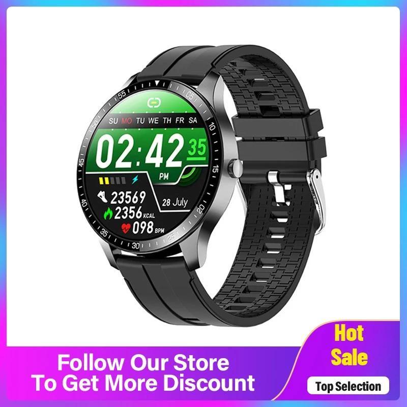 Smart Watch Bearth Rate Monitor Monden Women Sport Tracker Информация Push SmartWatch для iOS Android