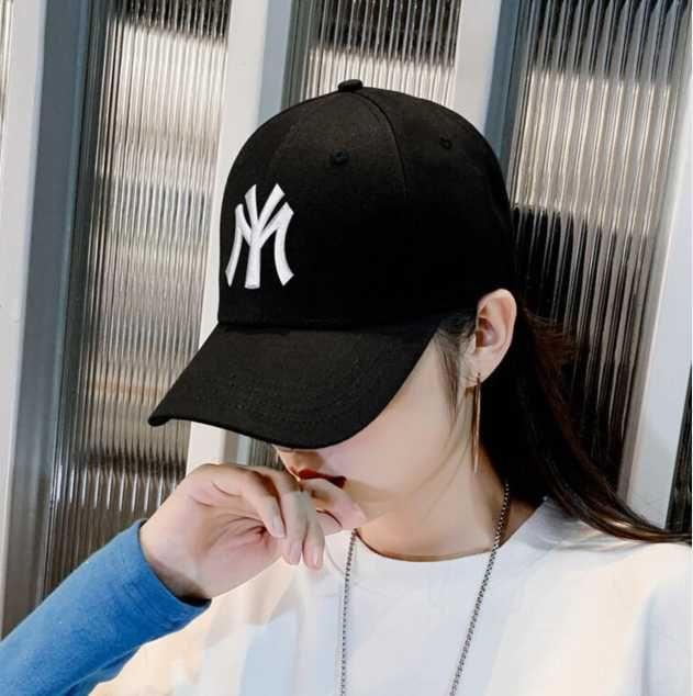 Benim şapkam çocuk Kore versiyonu Moda Mektubu işlemeli rahat çok yönlü açık güneşlik beyzbol şapkası adam