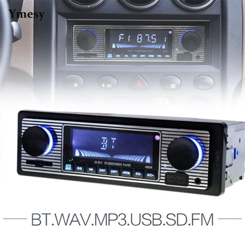 Yemesy Car MP3-плеер Современный 12V Bluetooth Автоматический Радиостеровый Audio FM-приемник Поддержка USB Radios Portatil MP4 Игроки