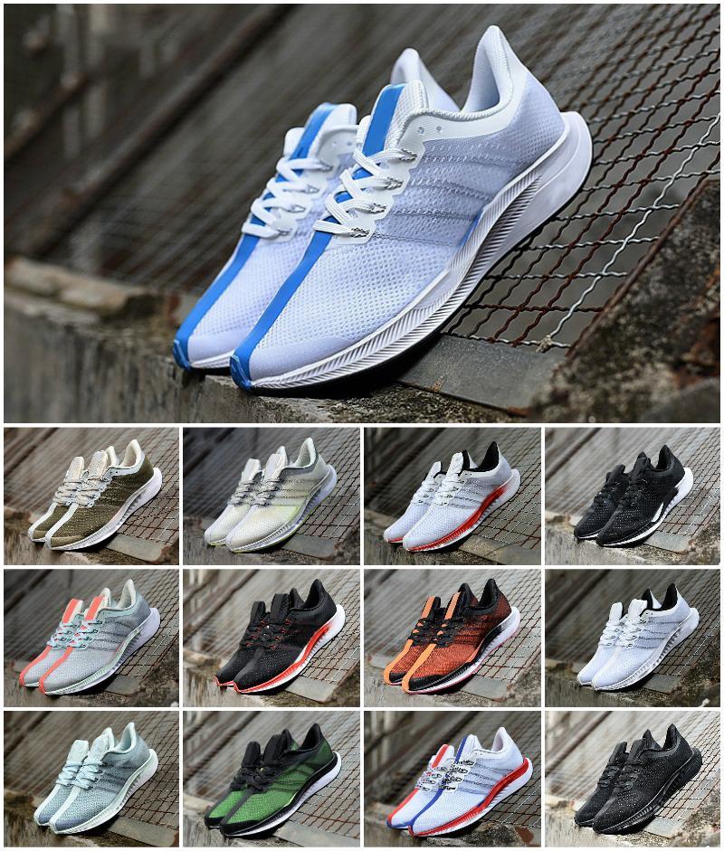 Top Qualité Zoom Pegasus Turbo Show Running Chaussures à peine gris Punch Chaussure Triple Blanc Blanc Chaussure Cher Chaussures Hommes Femmes Réagir Zm 35 Entraîneurs Designers