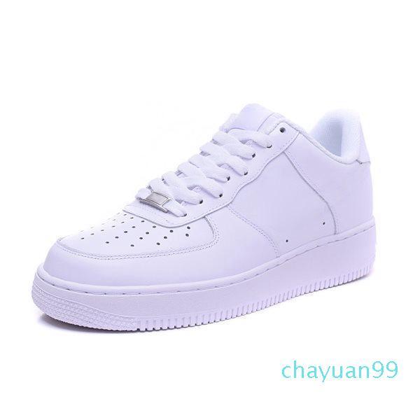 2020 Высокое Качество Классические Мужчины Женщины Унисекс Низкая Повседневная Обувь Мужская Женская Один 1 Белая Звездная платформа Сандалии Обувь Сандалии