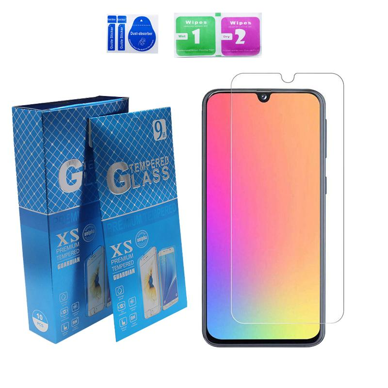 2.5D 9H Tempered Glass For iPhone 12 pro max 11 XR XS 6 7 8 Plus Full glue clear Screen Protector Samsung A12 A32 5G A52 A02S A22 Motorola g play 2021 N200 5G with package