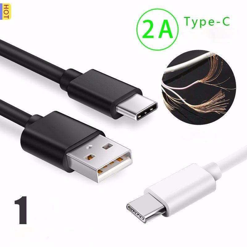 2A Быстрая зарядка USB-кабель 1 м Тип-С Кабели данных Cables Hot-Sale Type C Интерфейс для Samsung Galaxy S10 Plus S20 Ultra