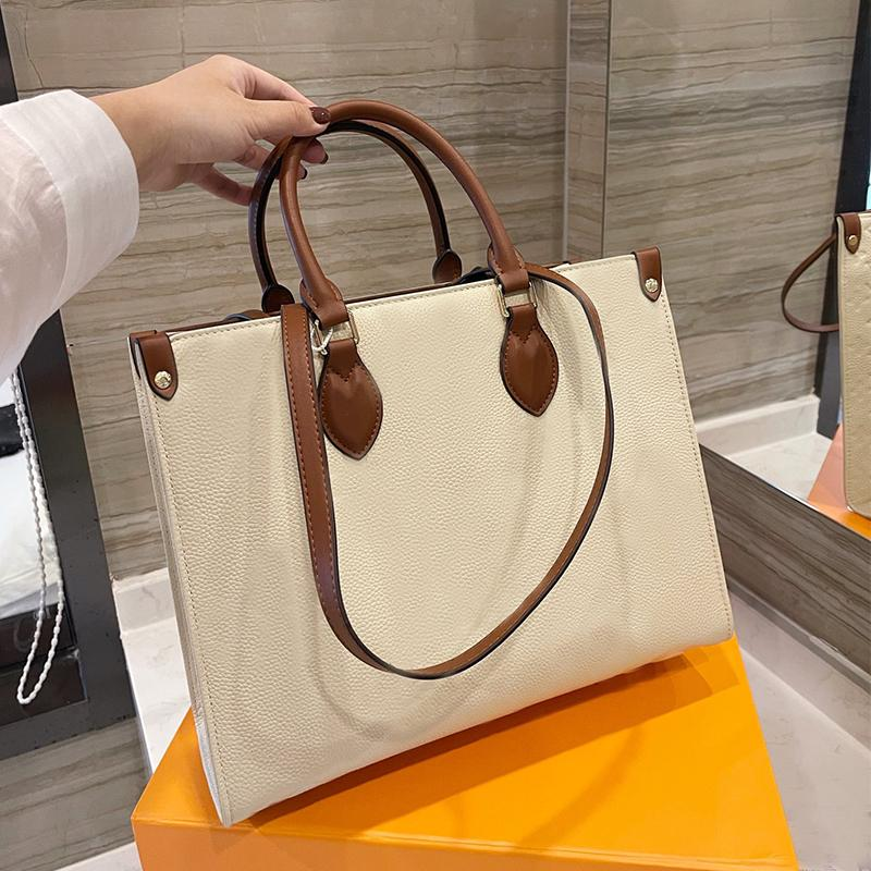 Women Shoulder Bag Fashion Bags Top Quality Genuine Real Leather Mommy Totes Embossed Pattern Classic Handbag Purse Ladies Shopping Bolsa