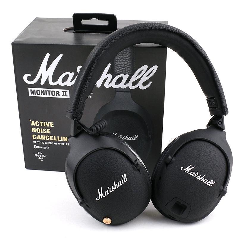 Marshall Monitor II ANC Bluetooth Kopfhörer mit Geräuschreduktion Kopfhörer Wireless Professional Mic Headset Gute Qualität