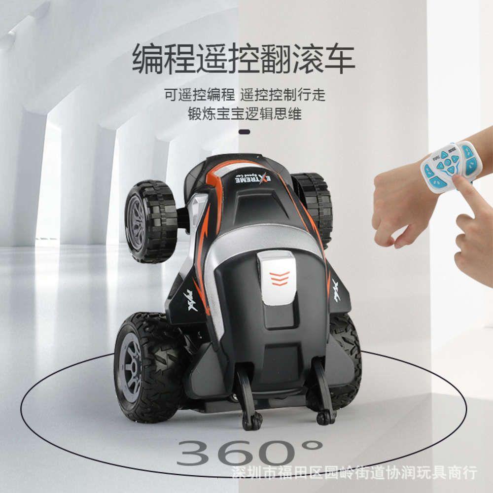 الكهربائية / rc carwatch مصغرة التحكم عن بعد حيلة لبرمجة الاطفال لعبة سيارة لعبة قبالة الطريق نموذج